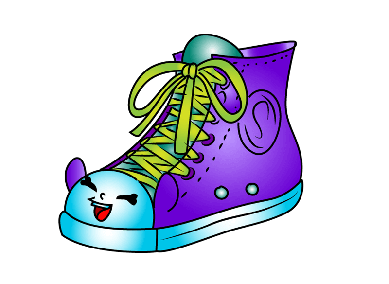 Sneaky Sally Shopkins clipart