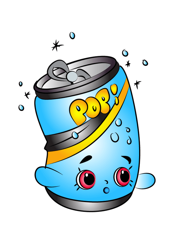 Soda Pops Shopkins clipart