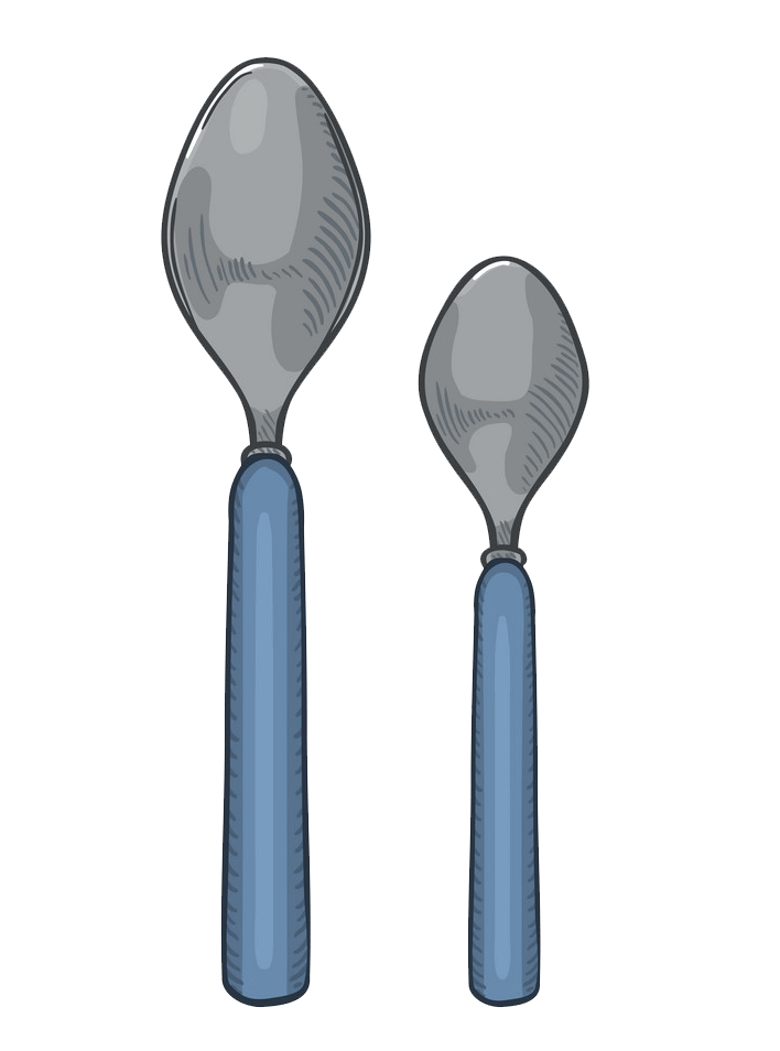 Spoons clipart transparent