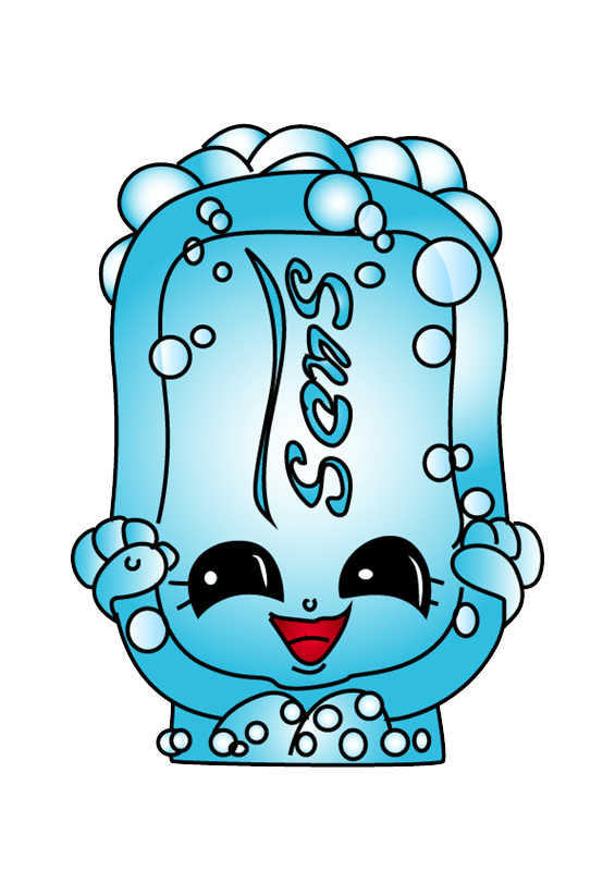 Suds Shopkins clipart transparent