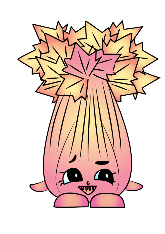 Super Celery Shopkins clipart transparent