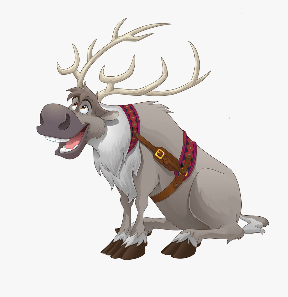 Sven from Frozen clipart