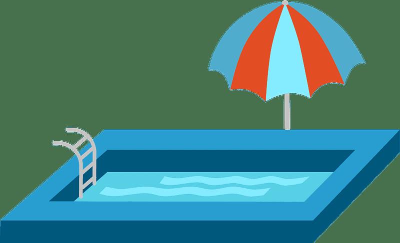 Swimming Pool clipart transparent 2