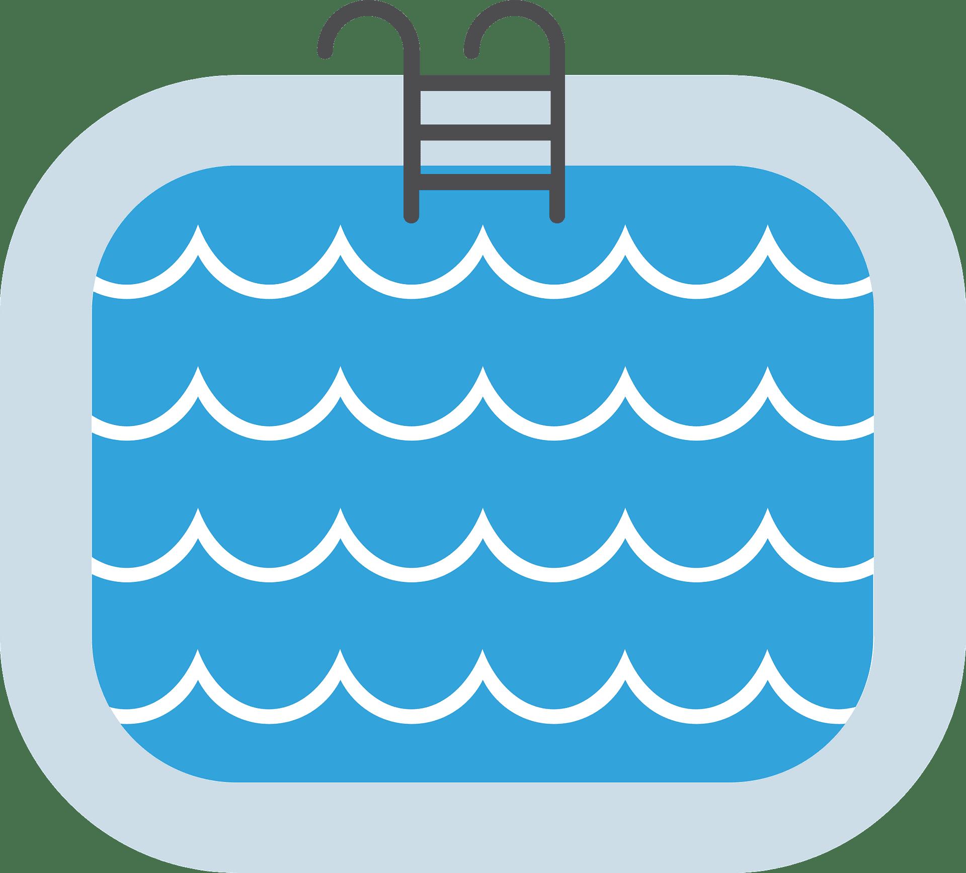 Swimming Pool clipart transparent 3