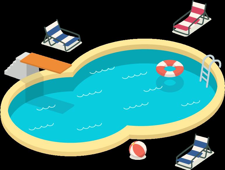 Swimming Pool clipart transparent 5