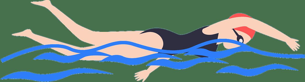 Swimming clipart transparent 1