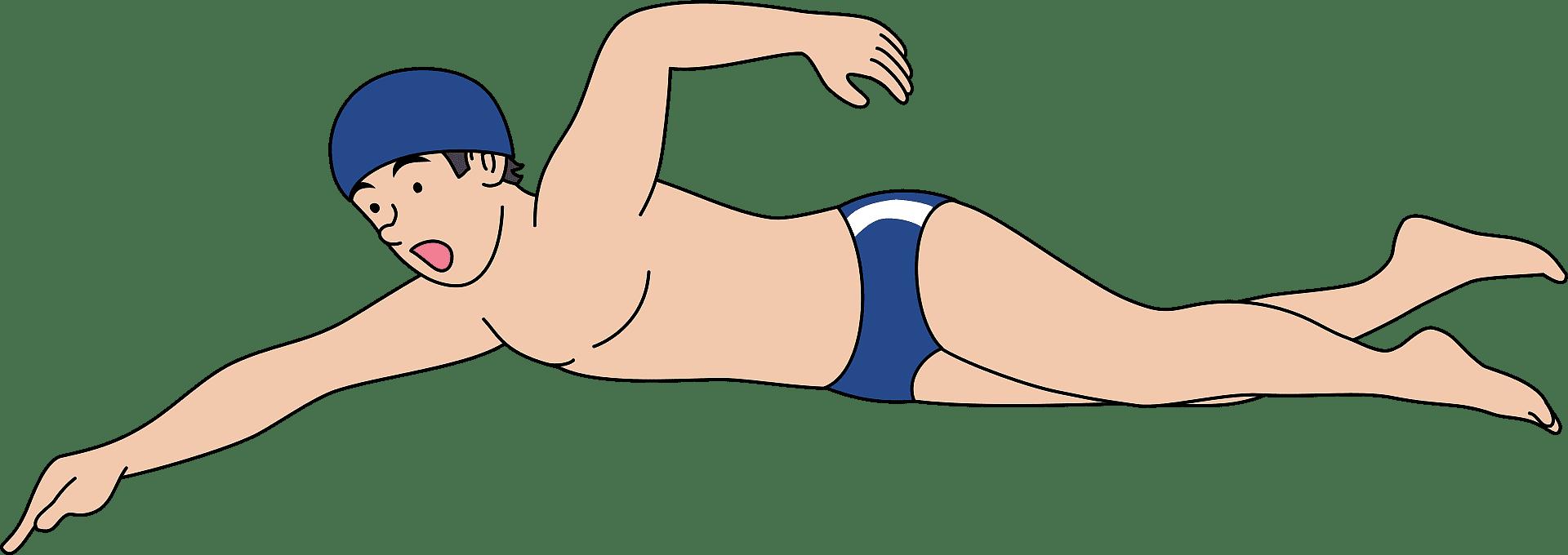 Swimming clipart transparent 10