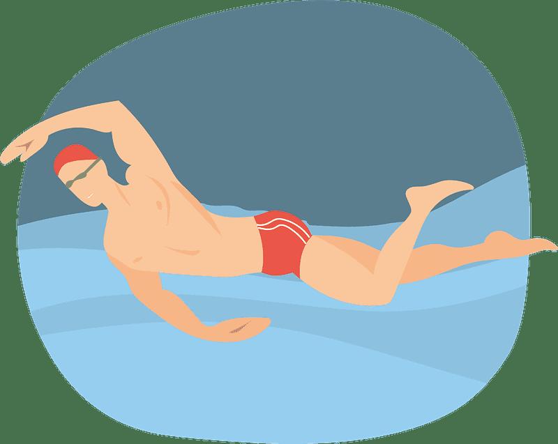 Swimming clipart transparent 2