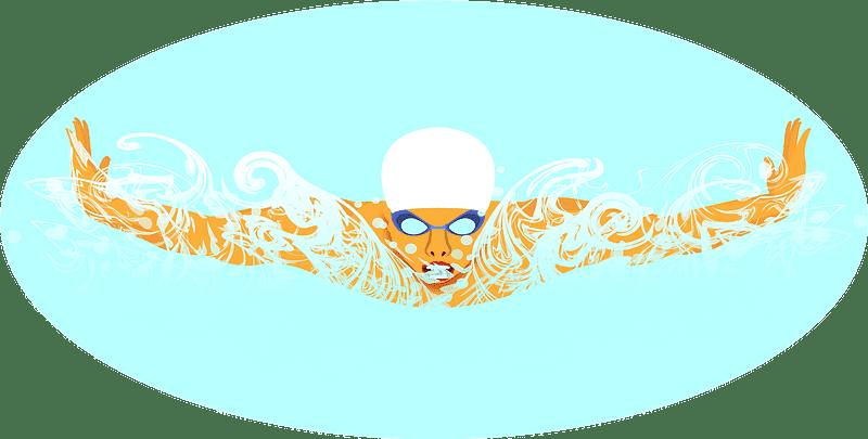 Swimming clipart transparent 3