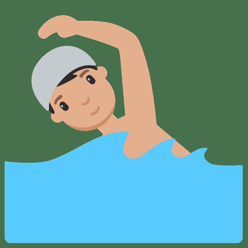 Swimming clipart transparent 4