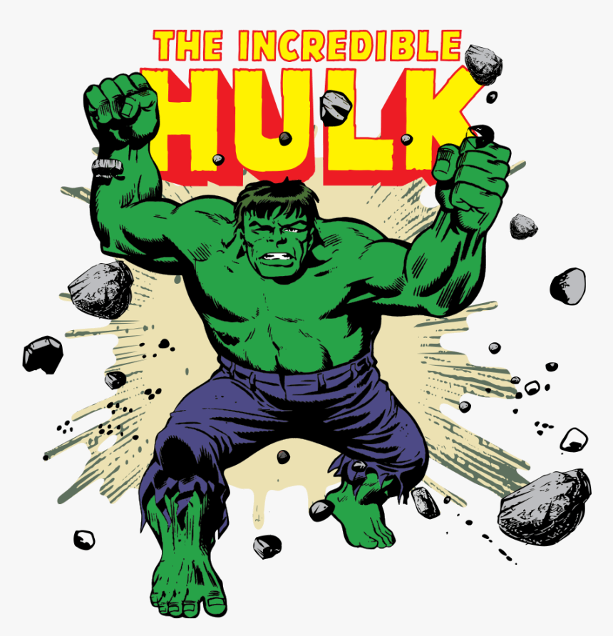 The Incredible Hulk clipart