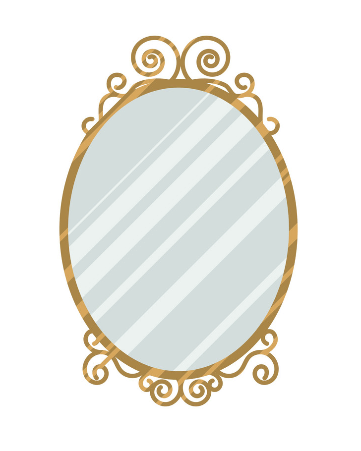Vintage Mirror clipart