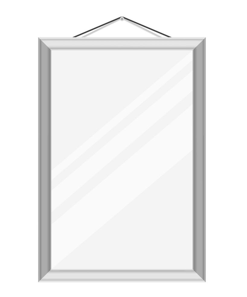 Wall Mirror clipart