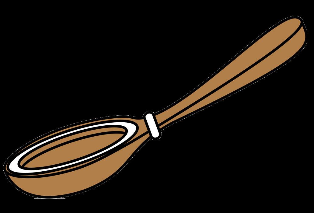 Wooden Spoon clipart transparent 1