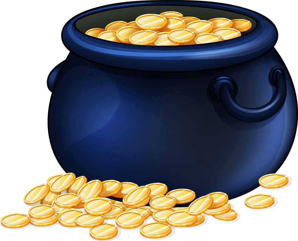 A Pot of Gold clipart