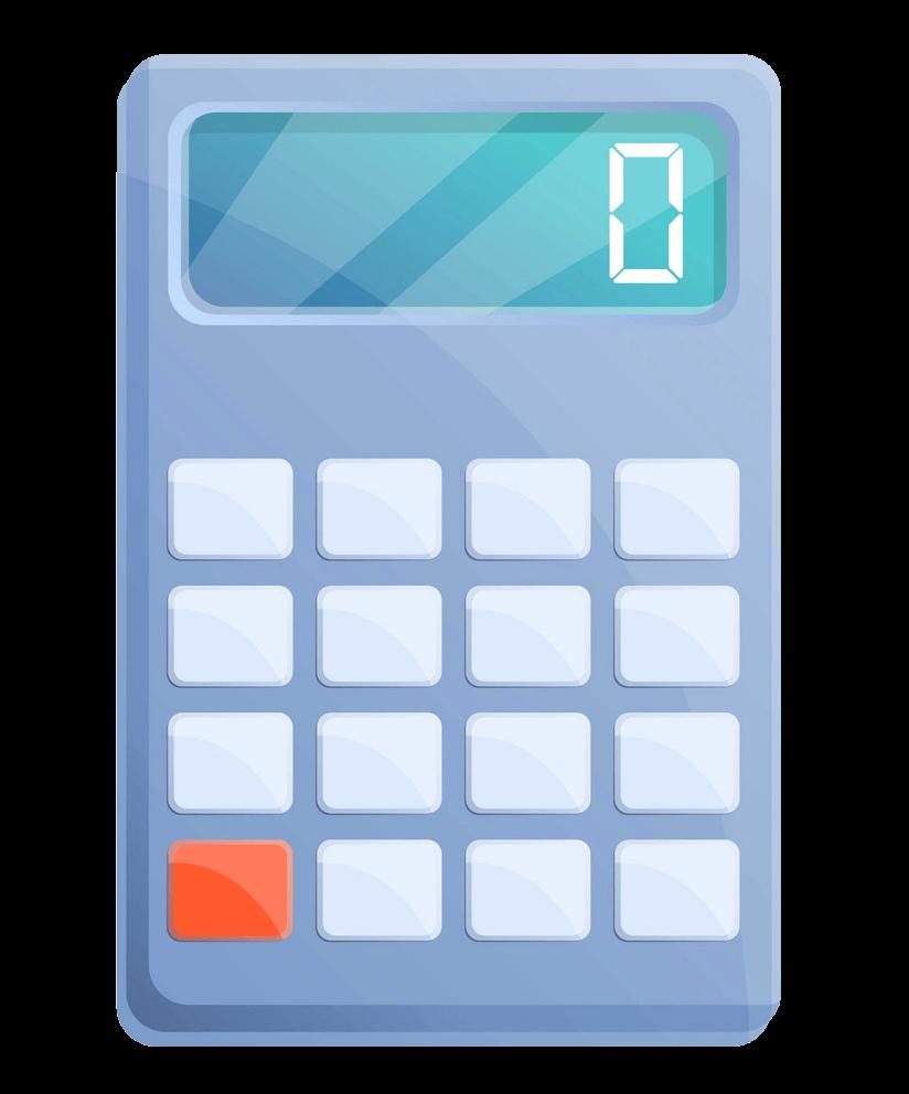 Algebra Calculator clipart transparent