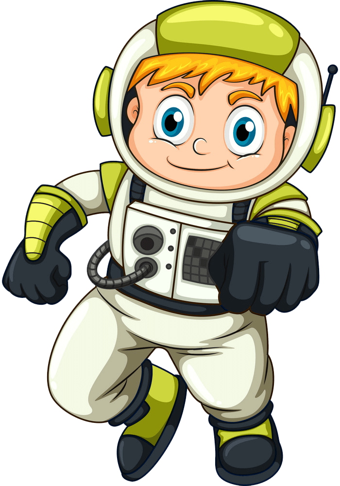 Astronaut clipart transparent 2