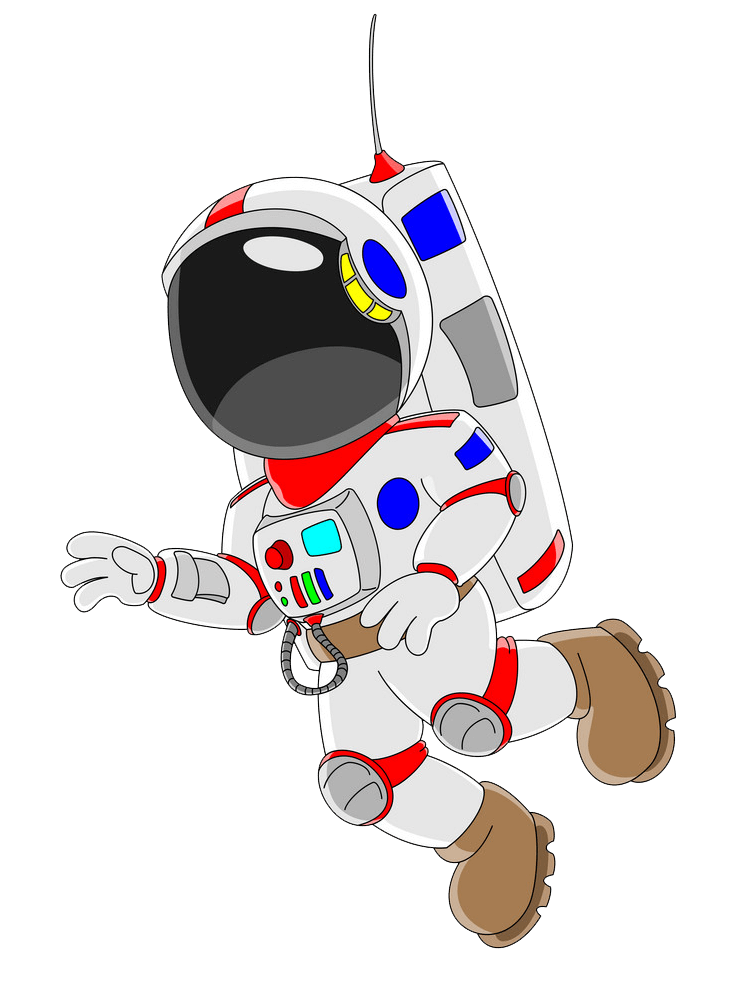 Astronaut clipart transparent 3
