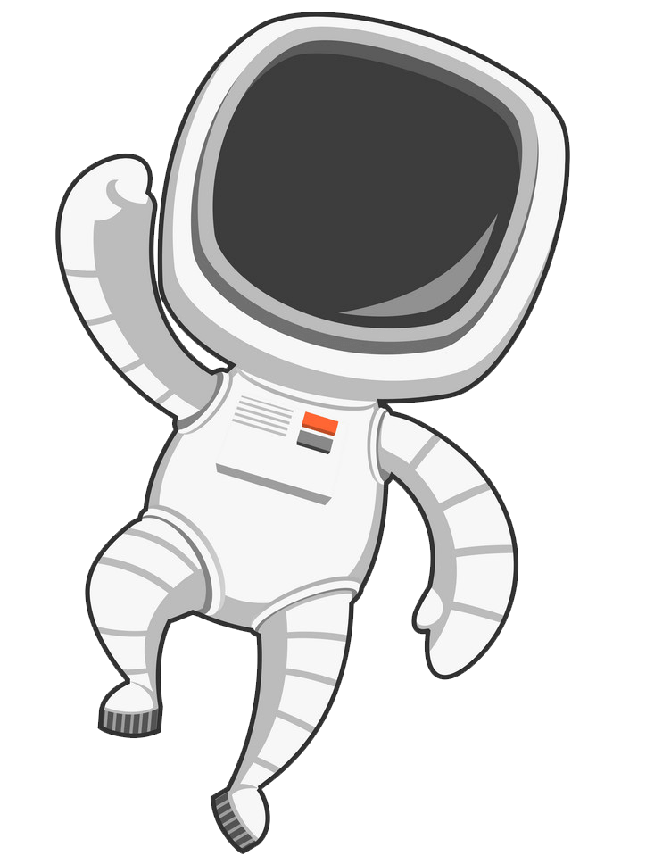 Astronaut clipart transparent 4