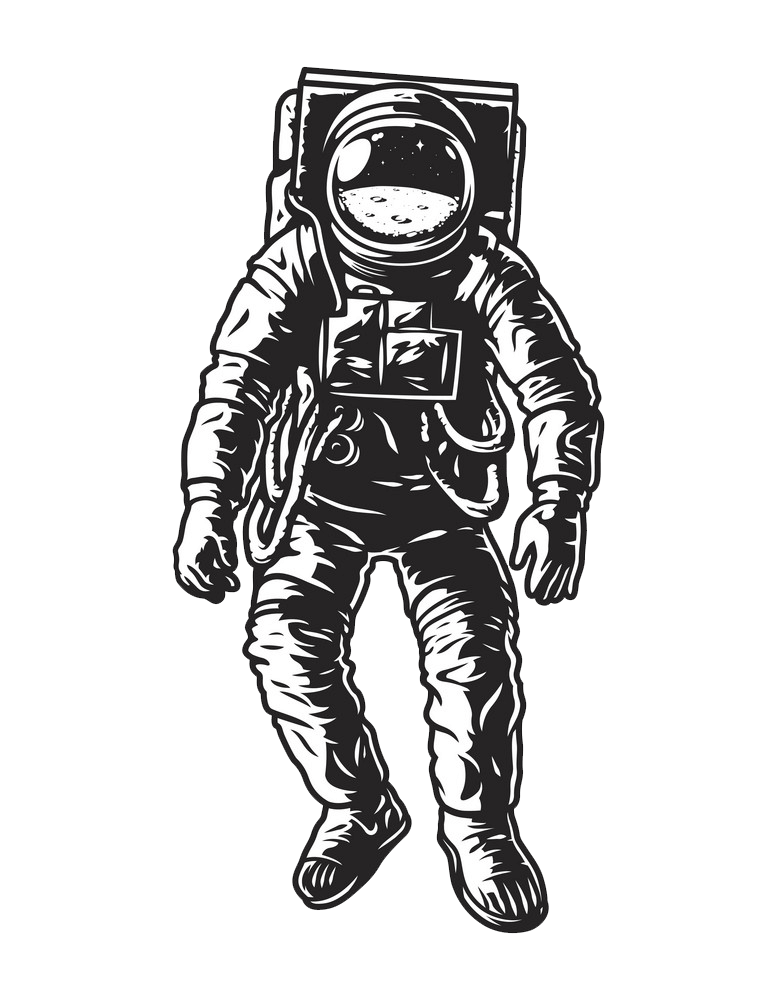 Astronaut clipart transparent 6