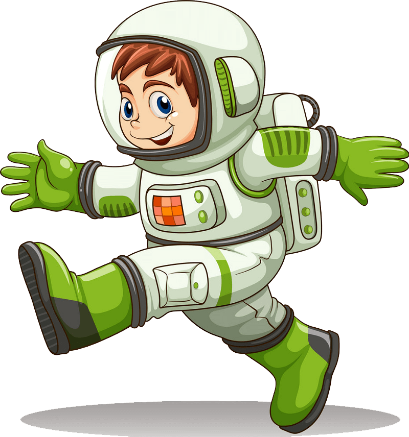 Astronaut clipart transparent