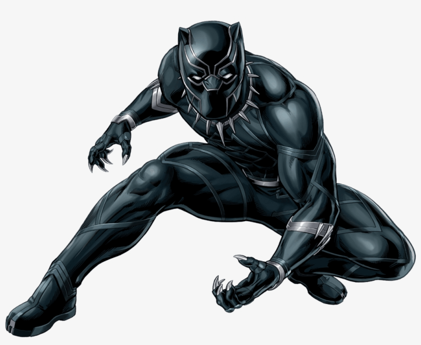 Awesome Black Panther clipart