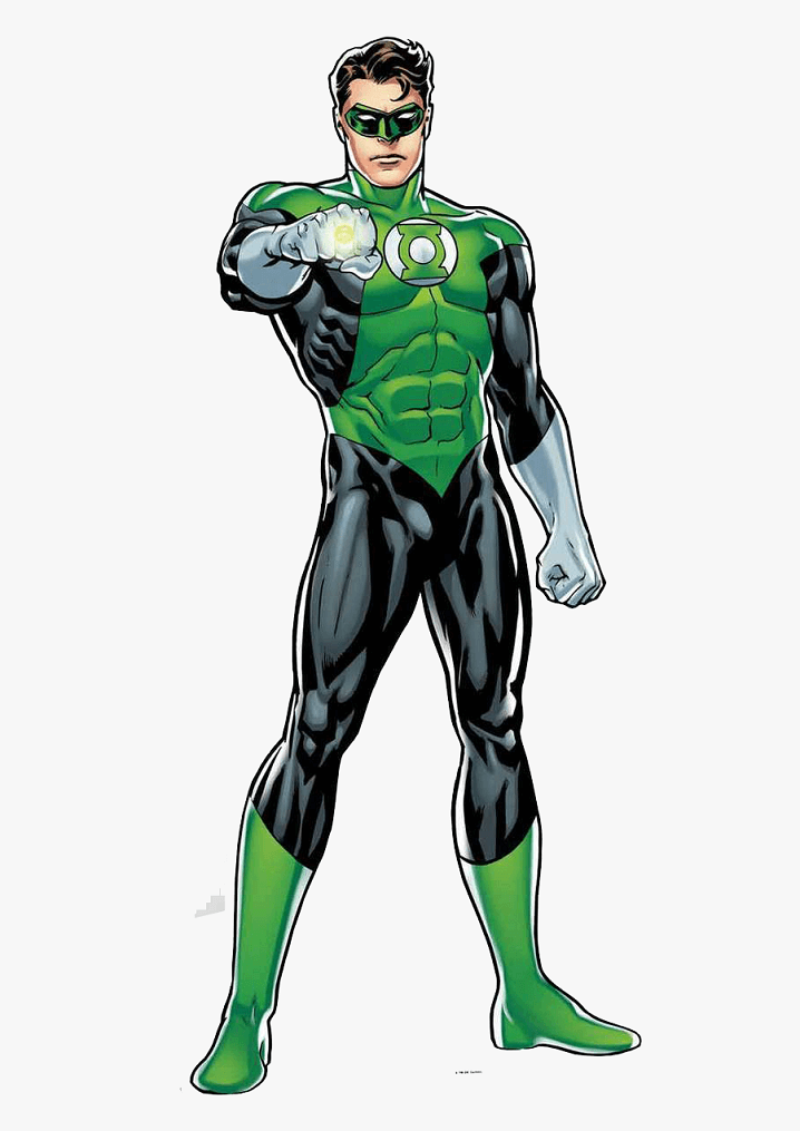 Awesome Green Lantern clipart