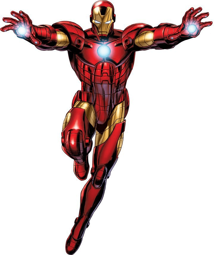 Awesome Iron Man clipart
