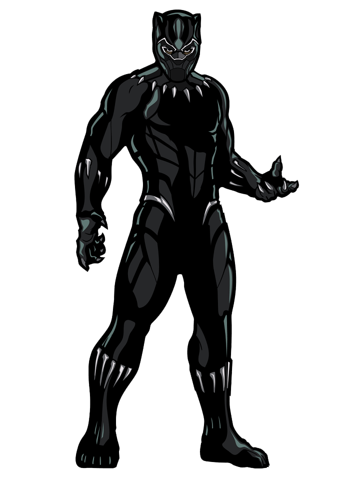 Black Panther clipart transparent