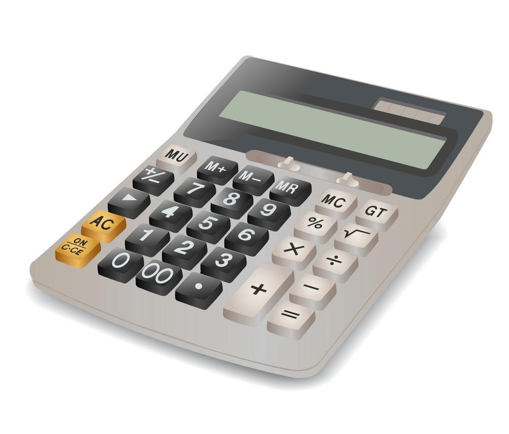 Calculator clipart 1