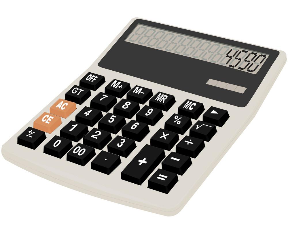 Calculator clipart 11