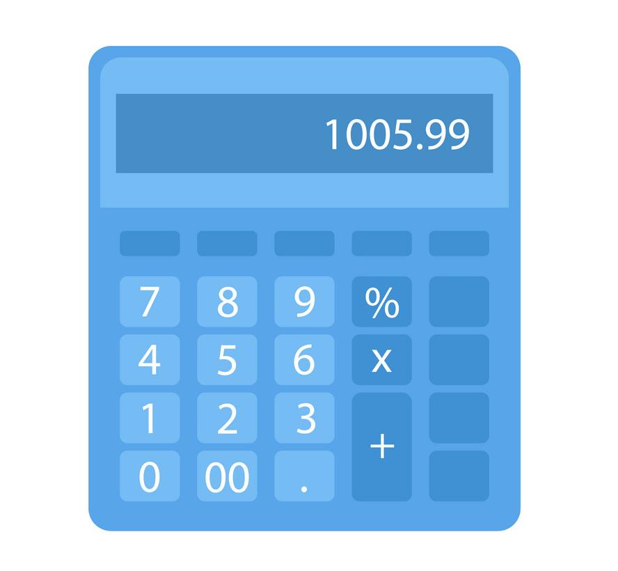 Calculator clipart 2