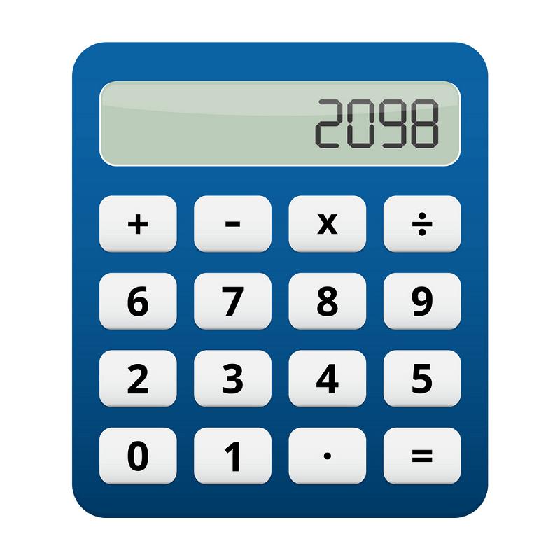 Calculator clipart 4