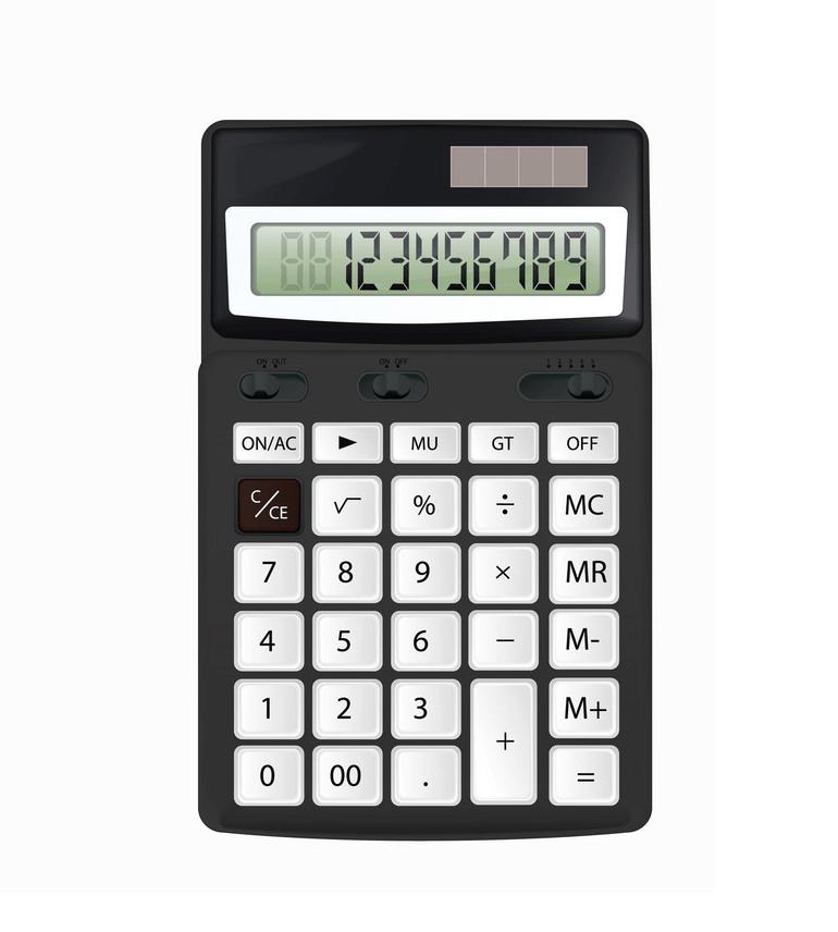 Calculator clipart 5