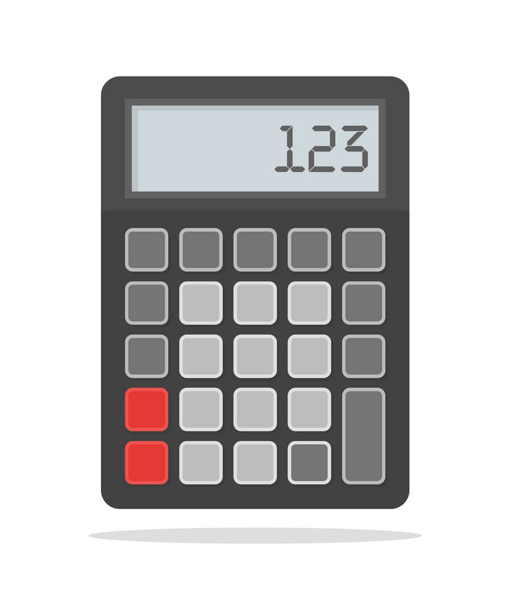 Calculator clipart 6