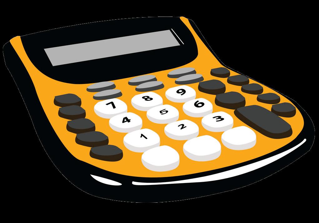 Calculator clipart transparent 2