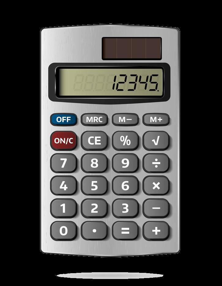 Calculator clipart transparent 4