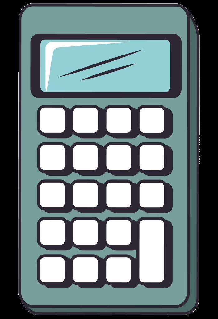 Calculator clipart transparent 5