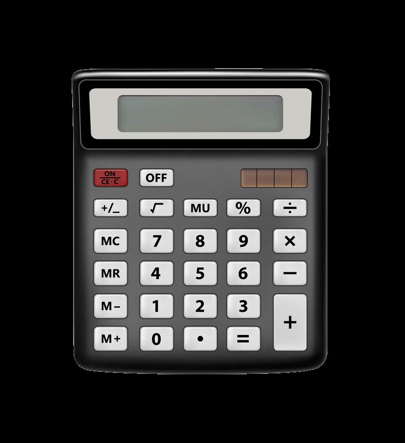 Calculator clipart transparent 6