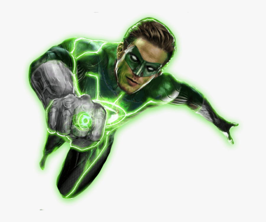 Cool Green Lantern clipart