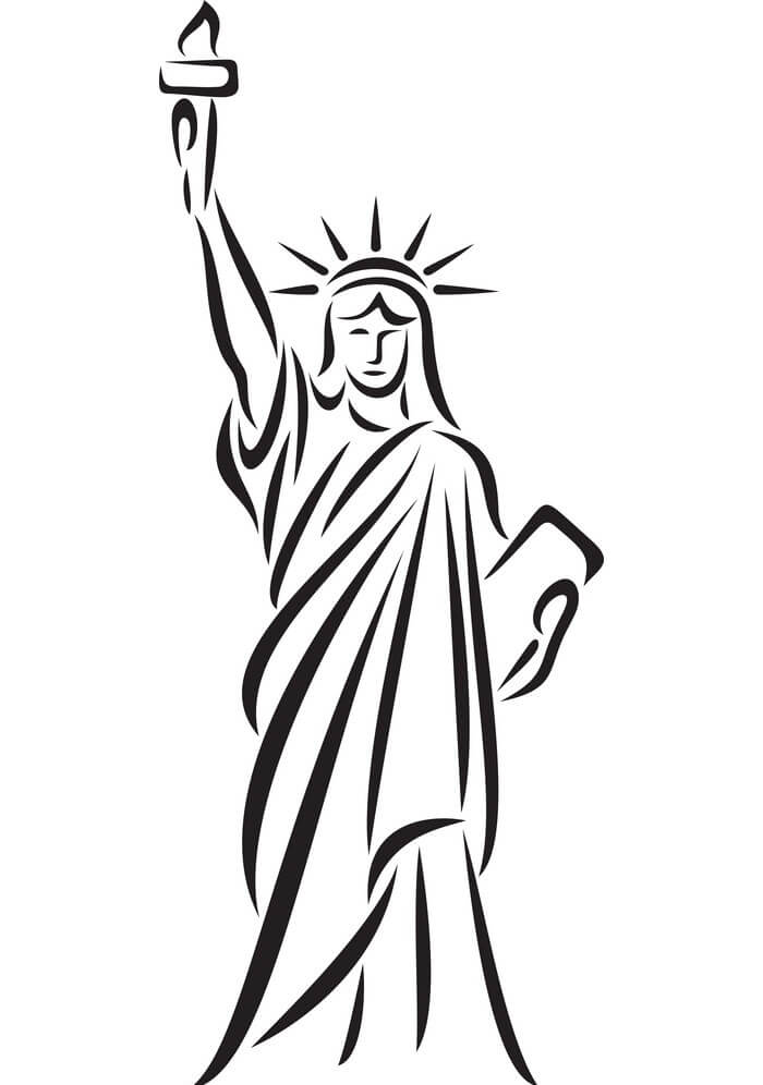 Free Statue of Liberty clipart