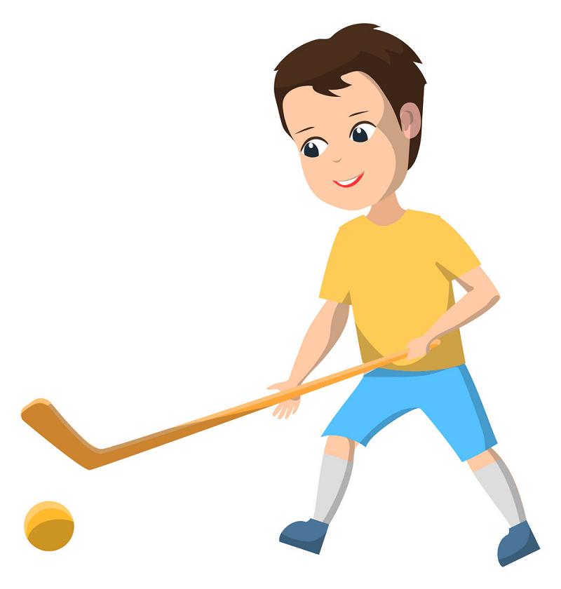 Hockey Boy clipart