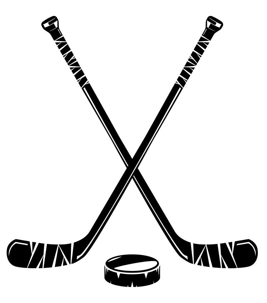 Hockey Stick clipart