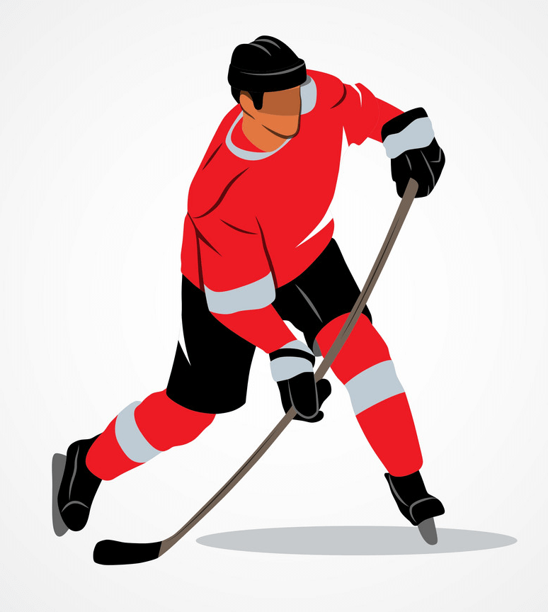 Ice Hockey Player clipart png