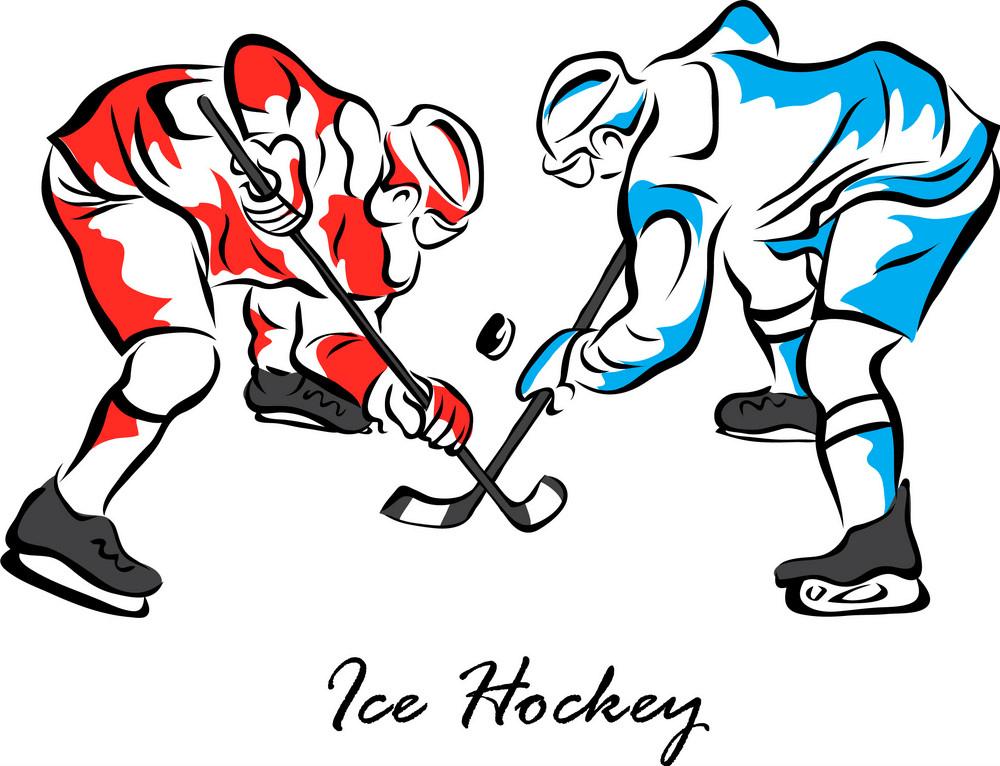 Ice Hockey clipart image