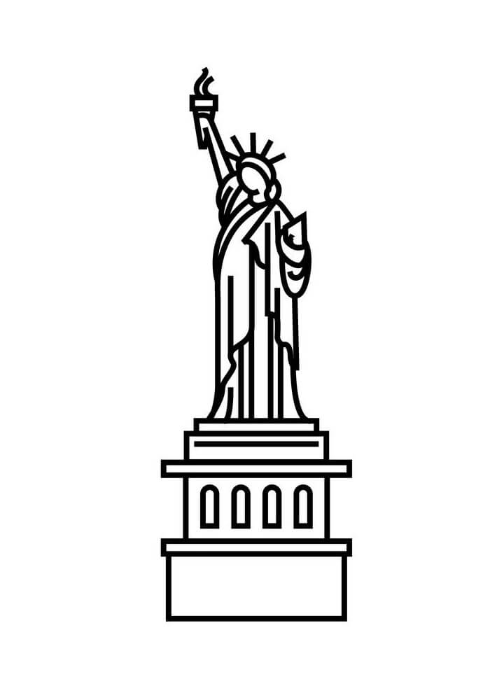 Icon Statue of Liberty clipart 1