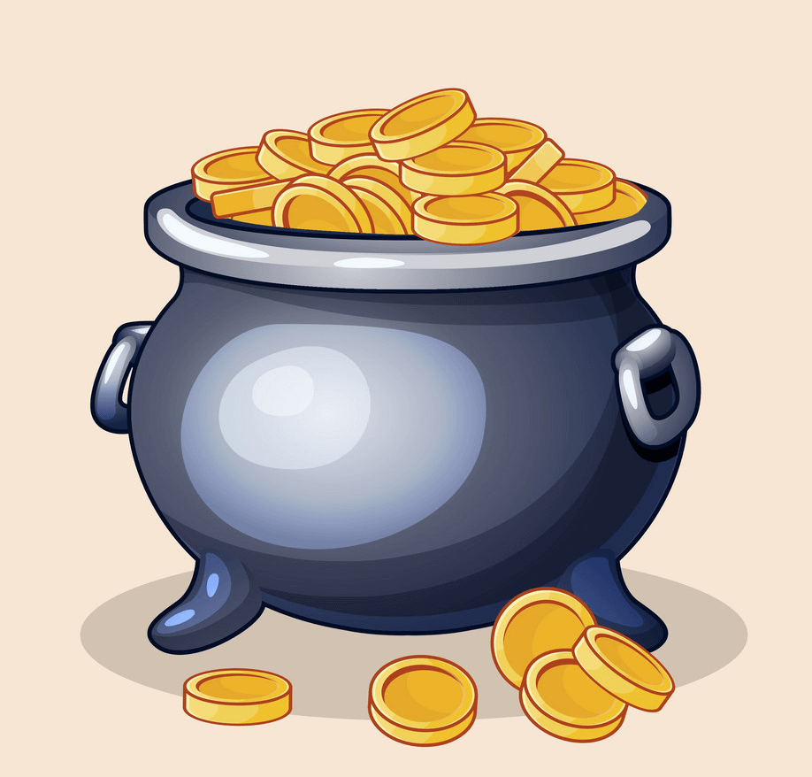 Image Pot of Gold clipart