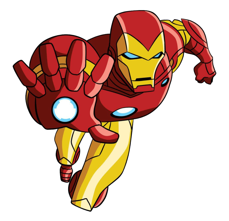 Iron Man clipart transparent