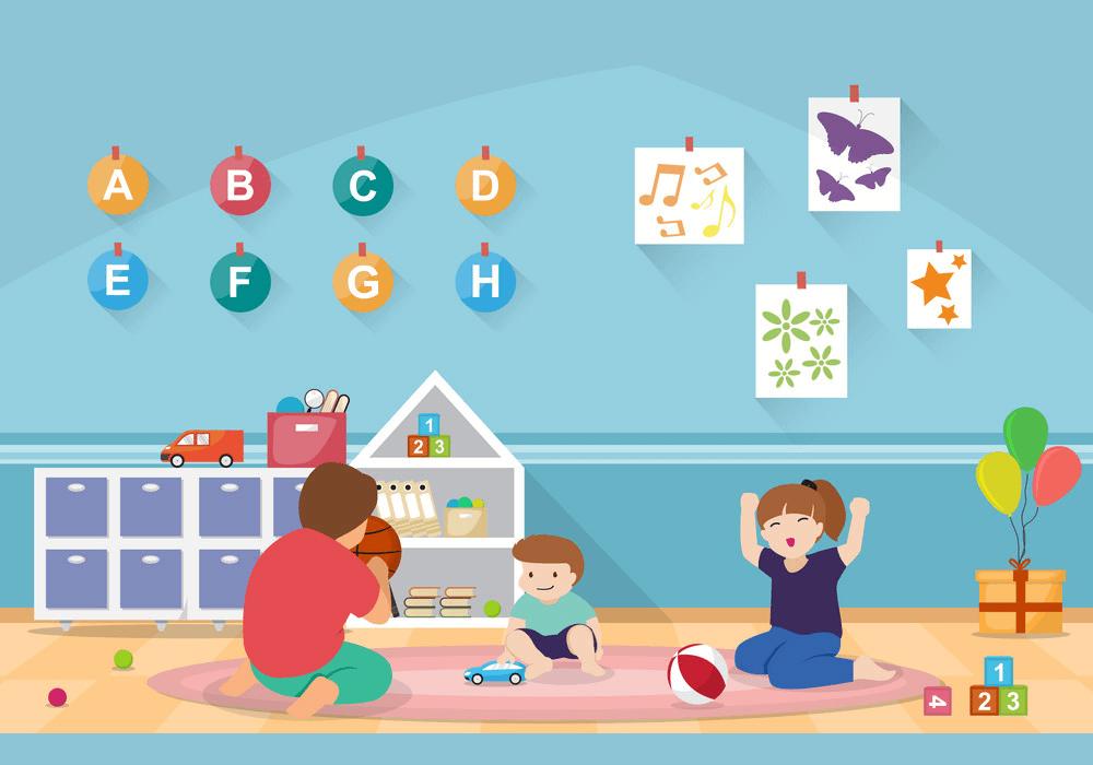 Kindergarten Children clipart