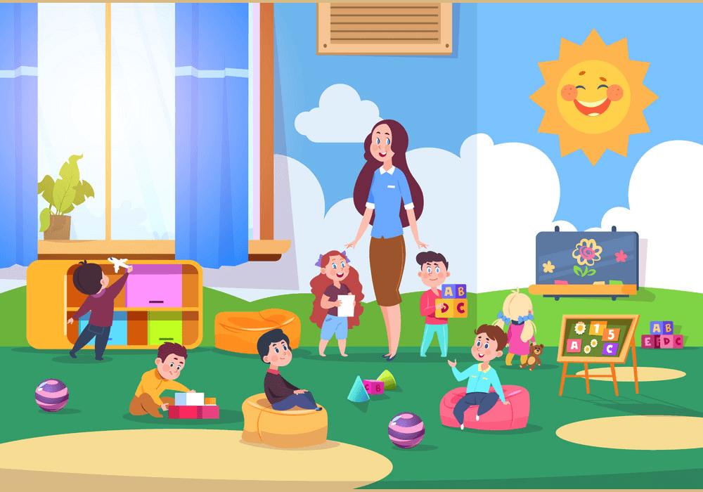 Kindergarten Class clipart